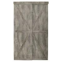 "Countryside Sliding Door - Antique - 48"" x 80 1/2"" | RONA"