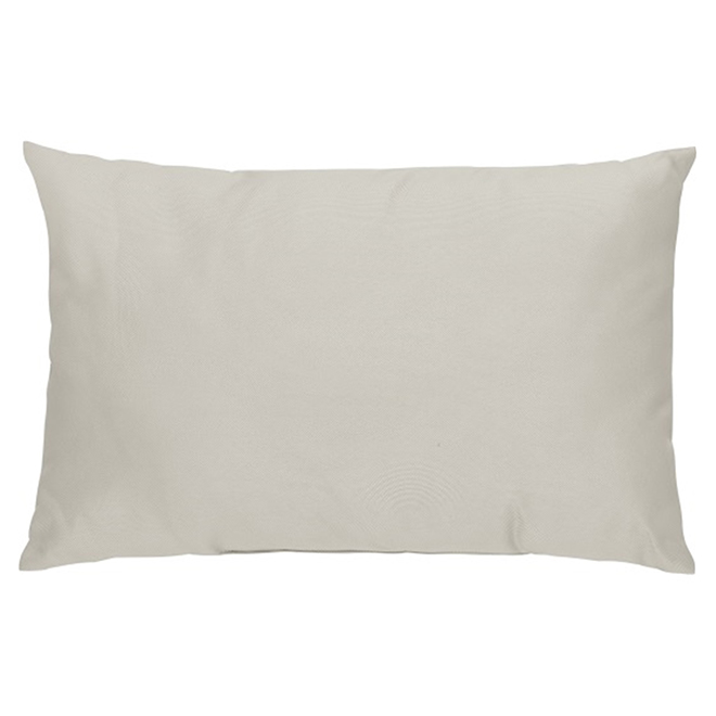 Coussin Dcoratif Pour Patio Polyester 12 X 18 Taupe