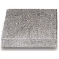 "Square Stepping Stone 18"" -Textured, Natural 