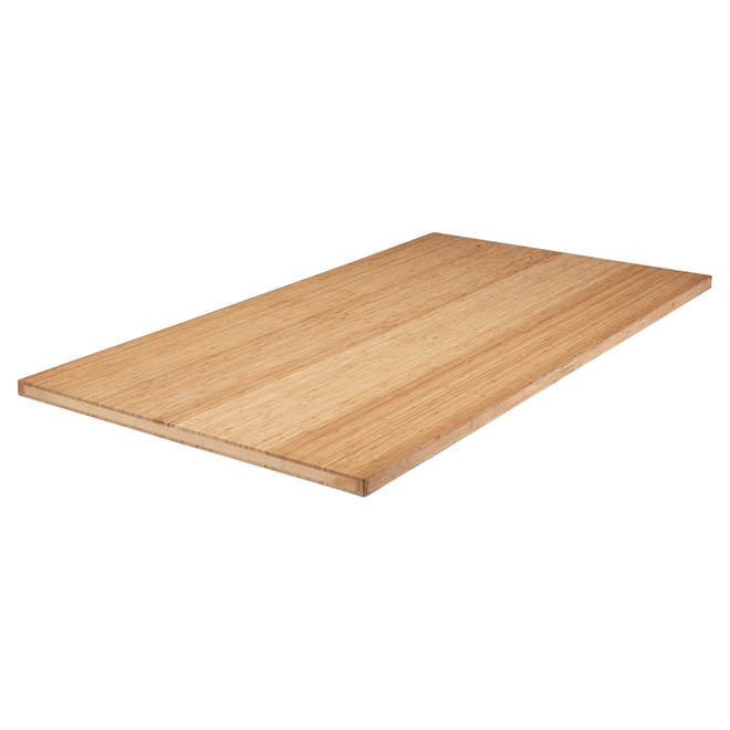 home depot kitchen packages curio cabinet bamboo counter top - 73 1/4