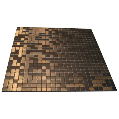 Self Adhesive Metal Tile Sahara Mixed Copper RONA