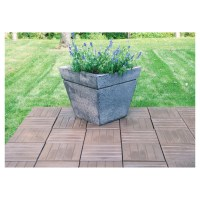 "Rustica Patio Paver - 15"" x 15"" - Brown 