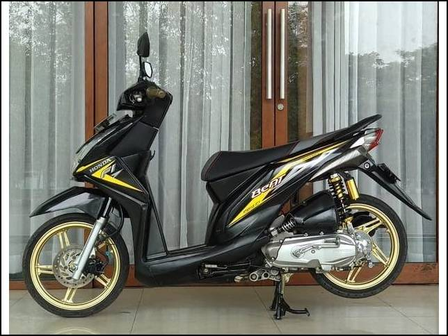 Motor Modifikasi Terkini Modifikasi Motor Beat Fi Babylook