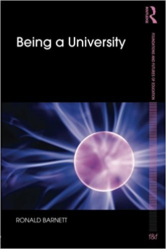 Being a University book cover