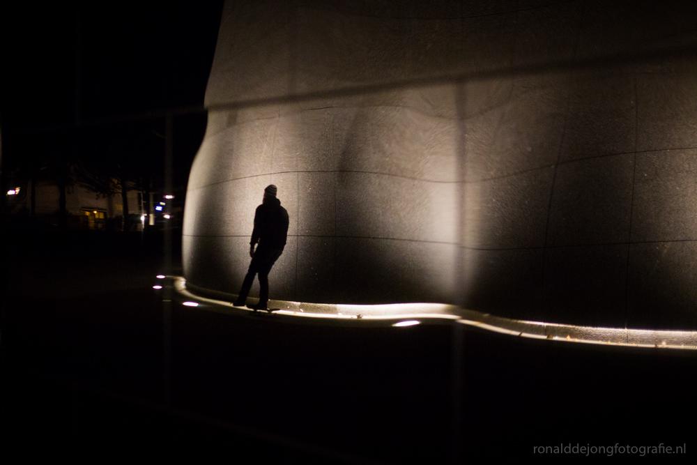 Straatfotografie, Frank Hartman en een skateboard