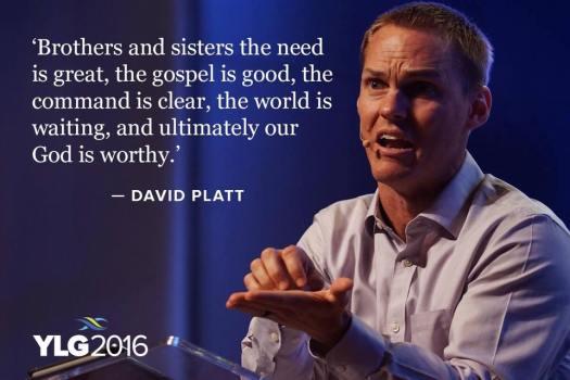David Platt (PC: Lausanne Movement, YLG 2016)