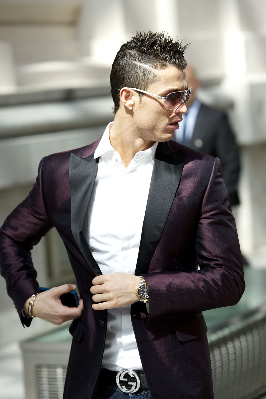 Cristiano Ronaldo Fashion And Hairstyles In 21 Pictures