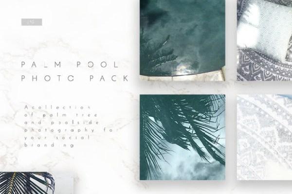 Pool Social Media Photo 5 Pack