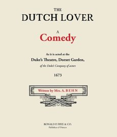 The Dutch Lover: A Comedy