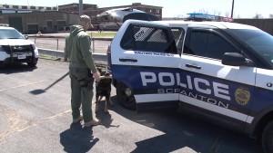 Scranton police car