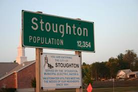 Stoughton MA city sign