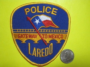 Laredo police patch