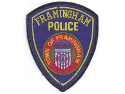 Framingham police patch