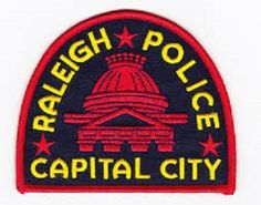 Raleigh police patch