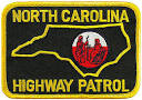 NC state police patch