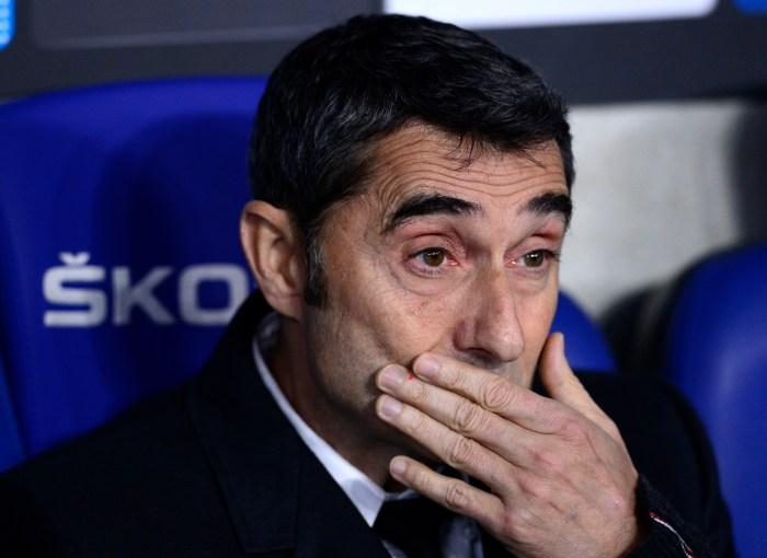 Valverde, despedido
