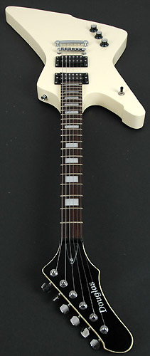 single pickup electric guitar wiring diagram defrost termination switch douglas halo white left handed - rondomusic.com