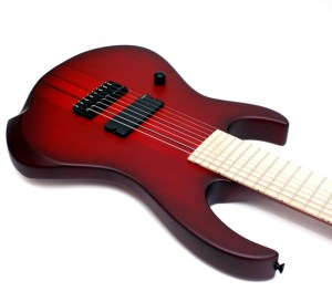 Agile Intrepid Pro 828 MN Bloodburst Left Handed at RondoMusic