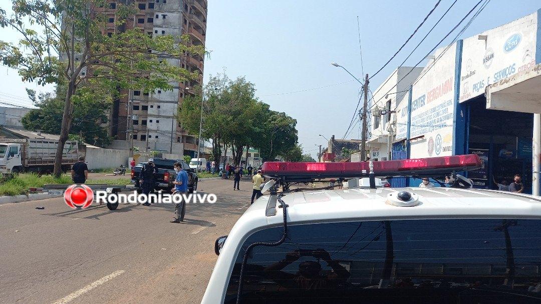 TRÁGICO: Idoso morre atropelado por caminhonete em Porto Velho; vídeo