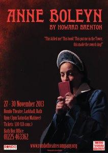 Anne Boleyn by Howard Brenton