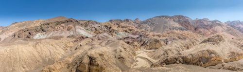 Artist's Palette in Death Valley