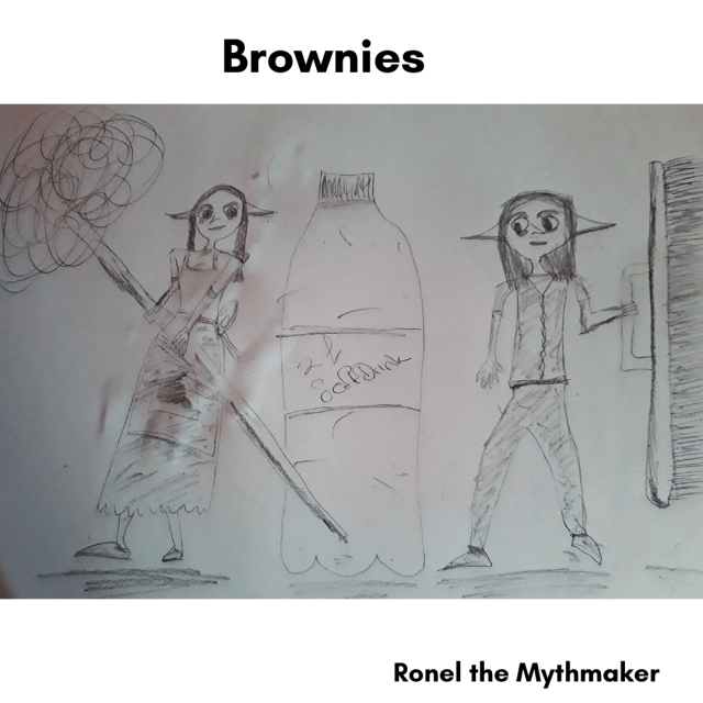 brownies sketch by Ronel