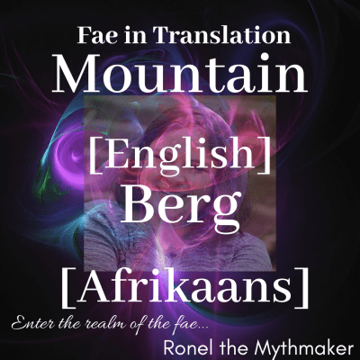 mountain english berg afrikaans