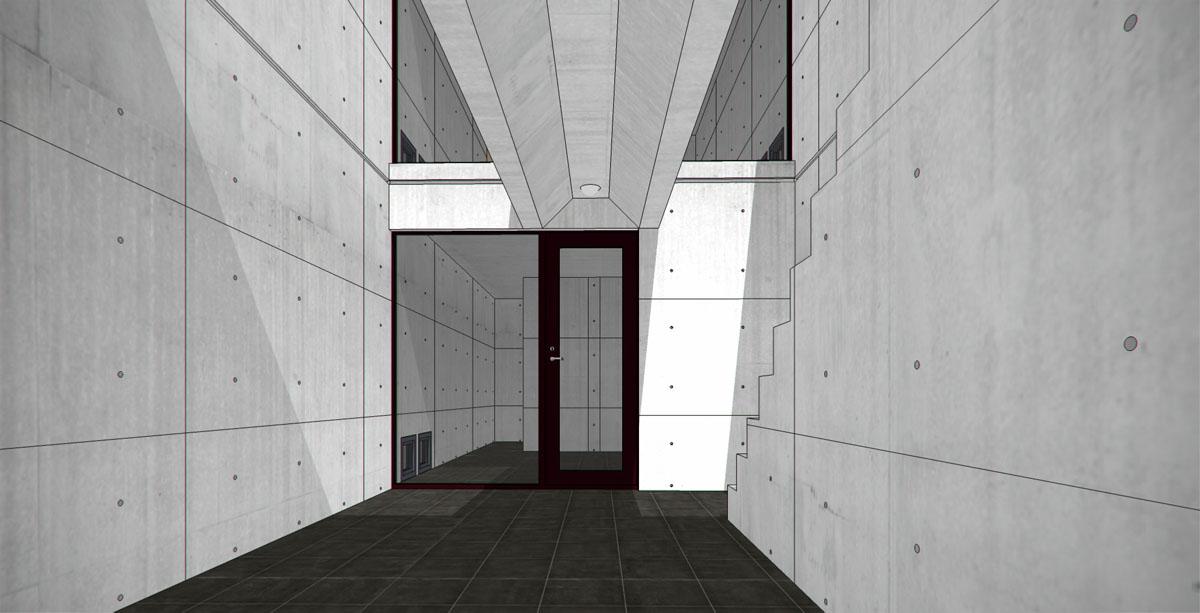 SketchUP Model Giveaway  Tadao Andos Azuma House  3D Architectural Visualization  Rendering Blog