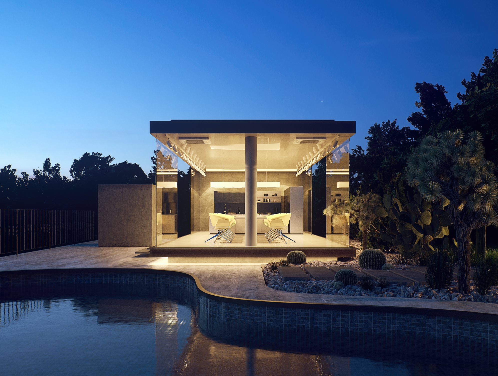 Making of IRACEMA in the Dusk  3D Architectural