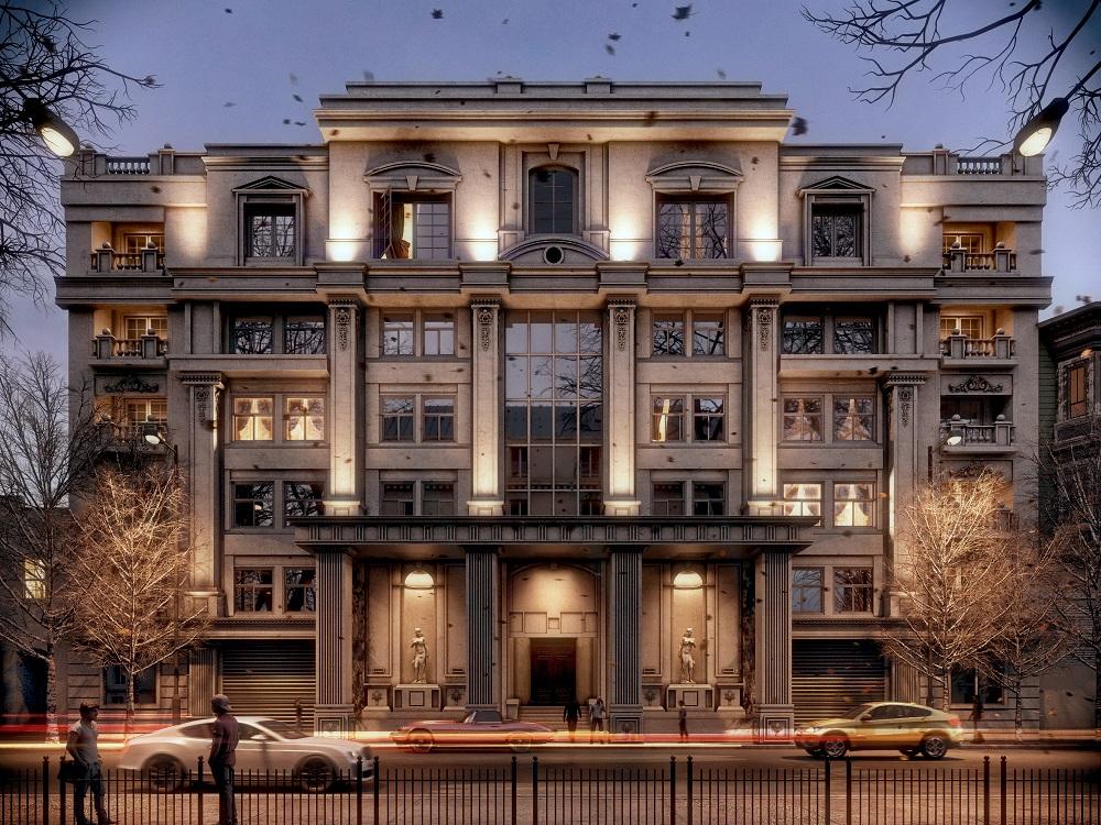 Classic Elevation Ronen Bekerman 3D Architectural