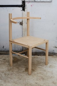 Coil + Drift Soren Wooden Chair in natural ash