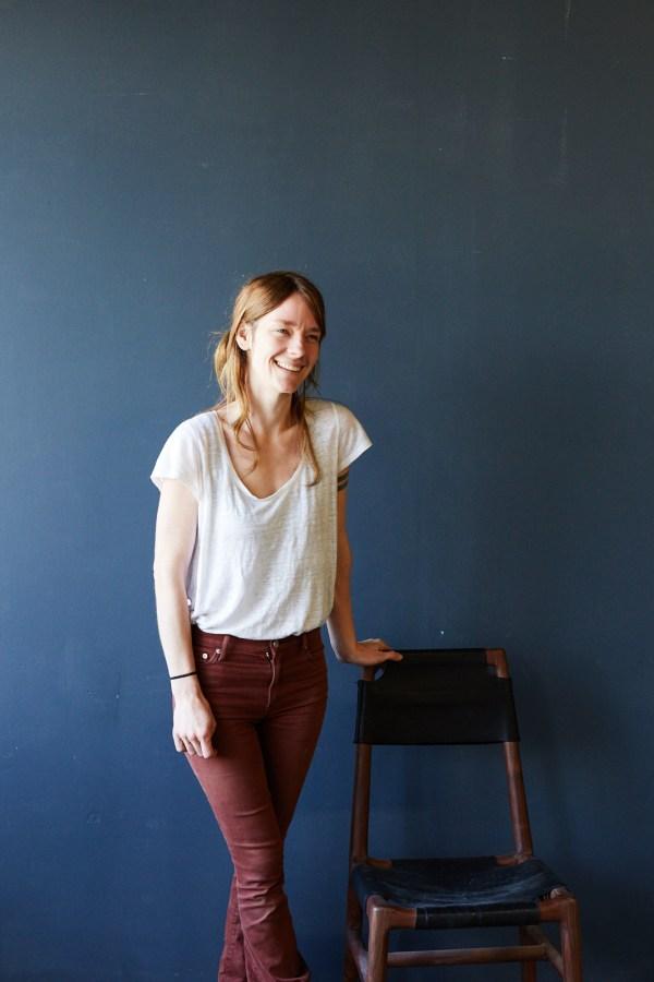 Casey Dzierlenga portrait in upstate New York studio