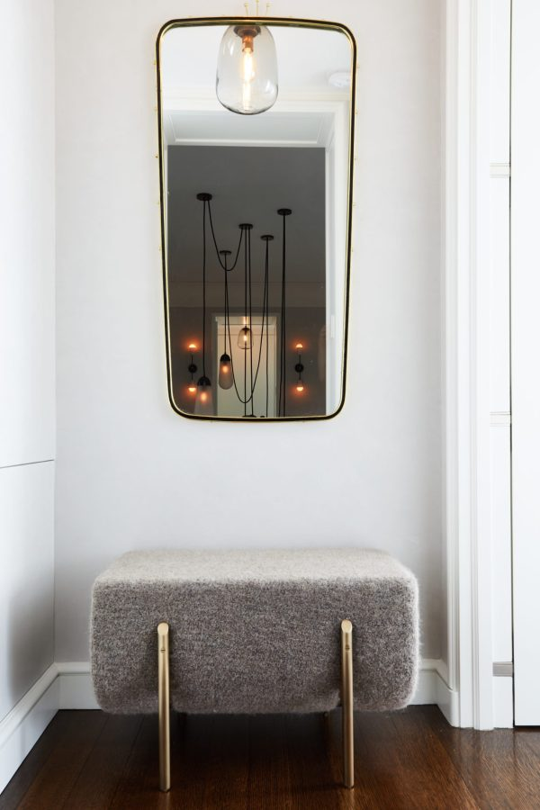 Master Bedroom Entrance with stool