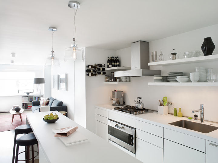 Bulthaup B3 Kitchen design in west village apartment