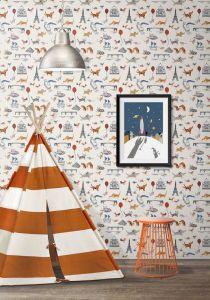 Milton & King Wallpaper