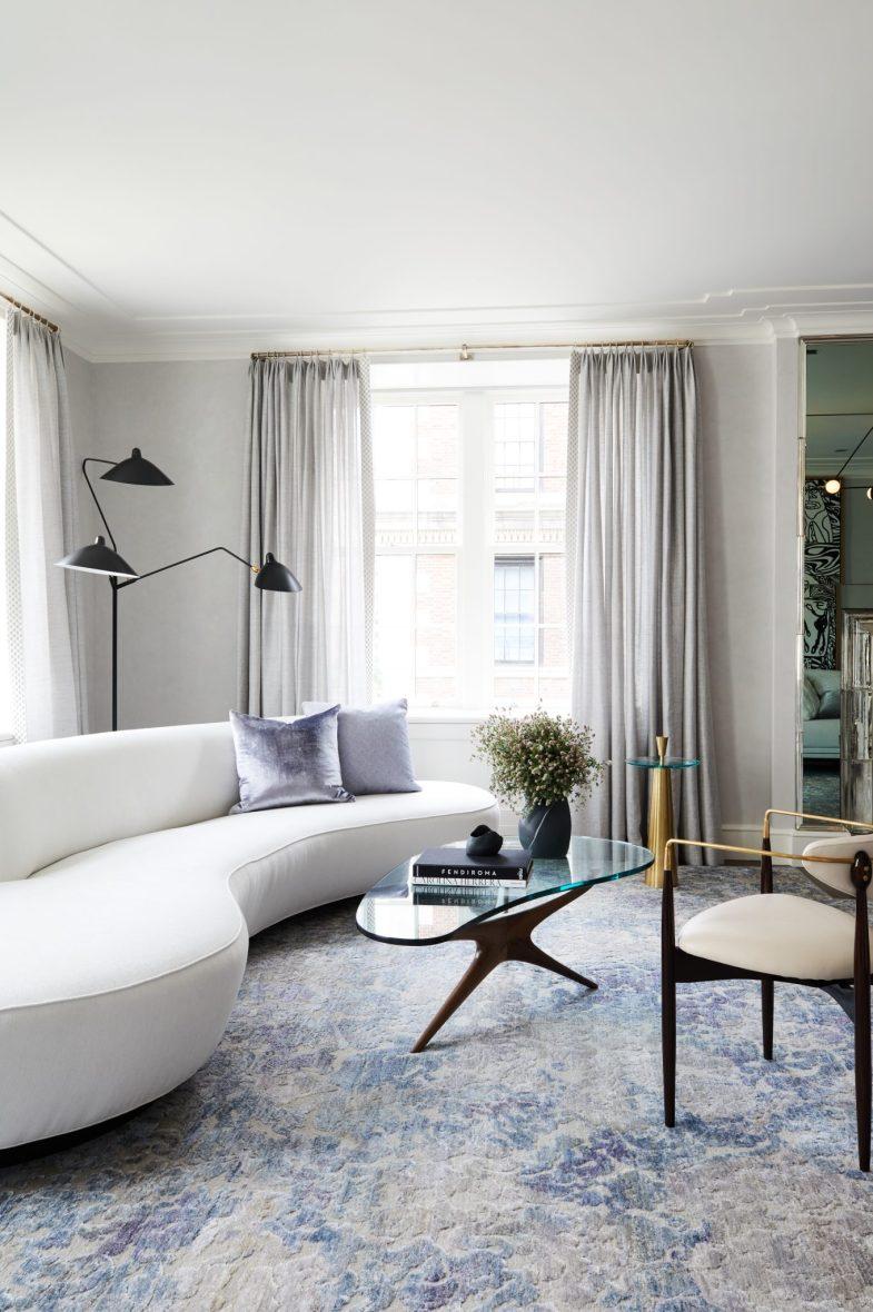 Classic Contemporary Park Avenue Apartment Ronen Lev