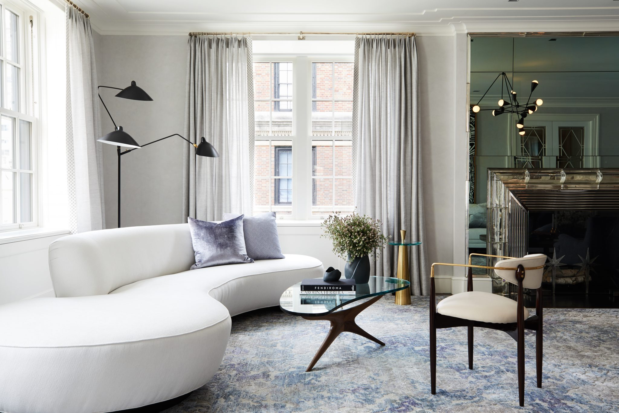 12 Picturesque Small Living Room Design: Classic Contemporary Park Avenue Apartment