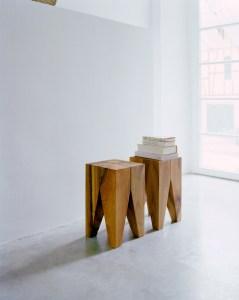 e15 backenzahn stool or side table
