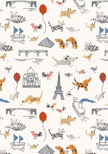 Sarah Betts Paris Illustrator Wallpaper