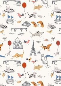 Sarah Betts Paris Illustrator Wallpaper
