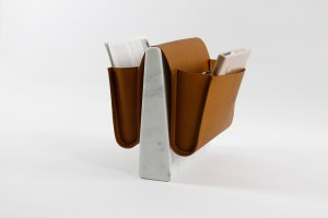 Modern Magazine Rack by Noble & Wood