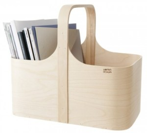 Verso Design Modern Magazine Holder