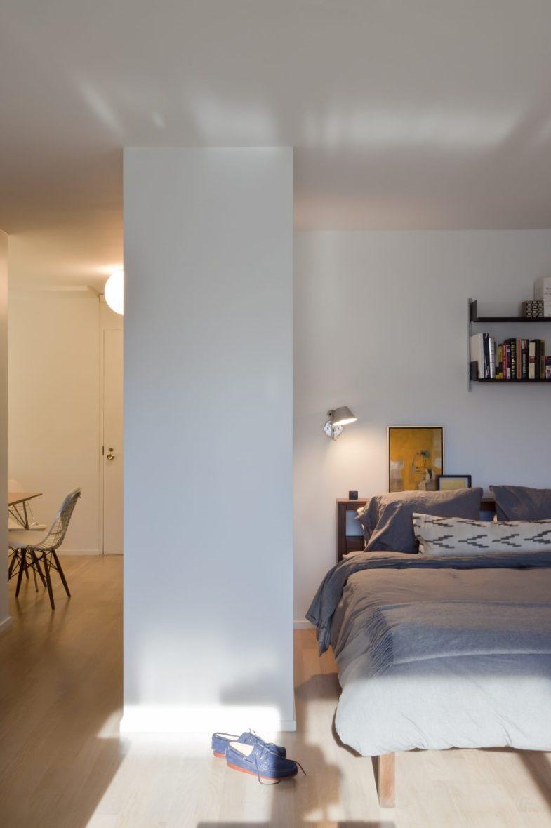 vitsoe shelving bedroom