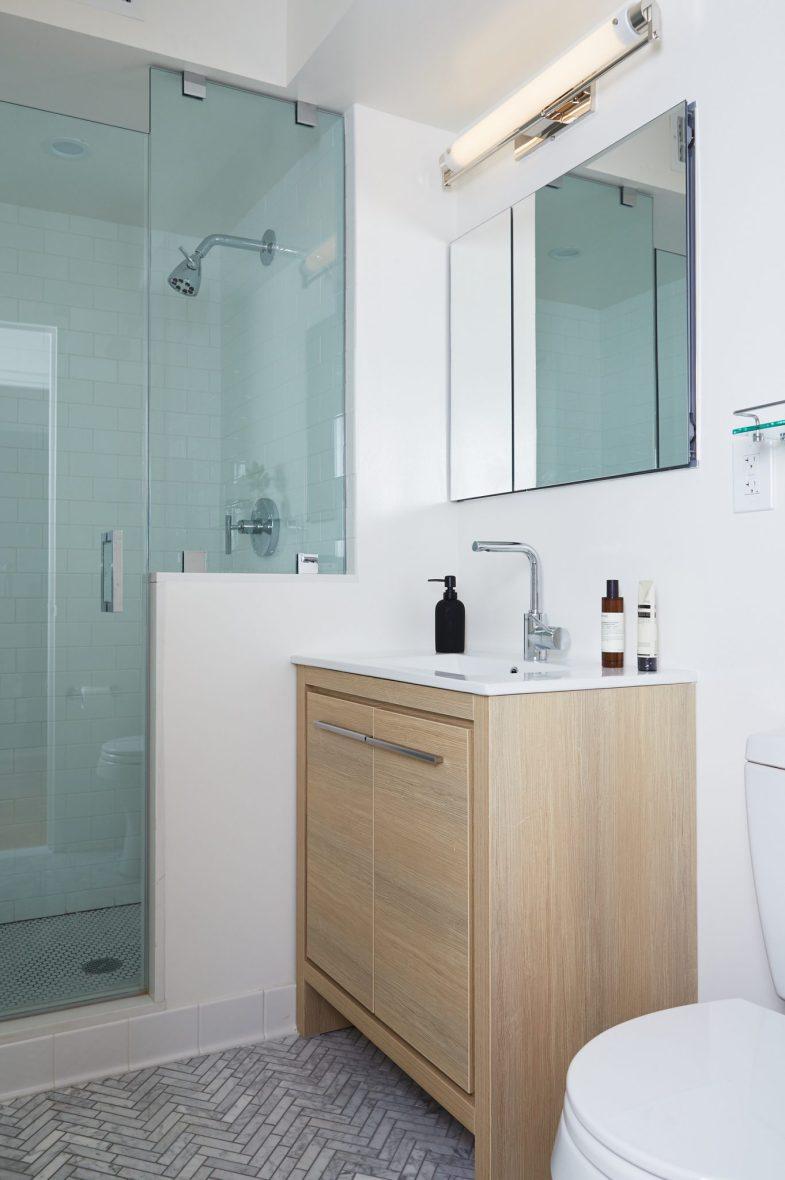 Modern Renovation Bathroom NYC