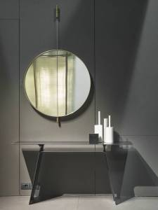 Galileo wall hanging mirror for bathroom