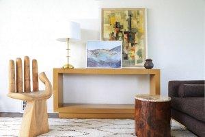 Lawson Fenning palisades rectangular console