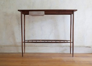 Samuel Moyer Preying Mantis wood console table