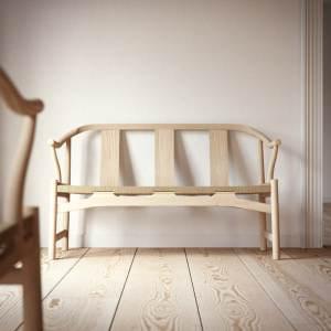 Hans Wegner PP266 Chinese bench in wood