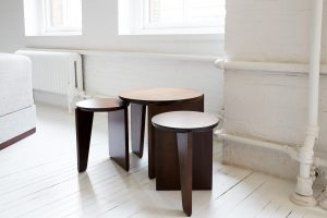 WU SIDE TABLE / STOOL by Egg Collective