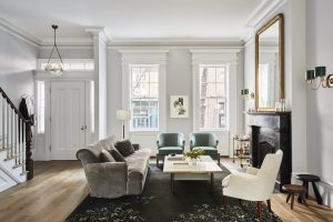 ronen lev west village townhouse